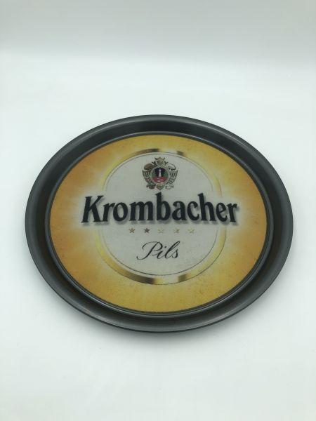 Serviertablett Krombacher flach Gebraucht