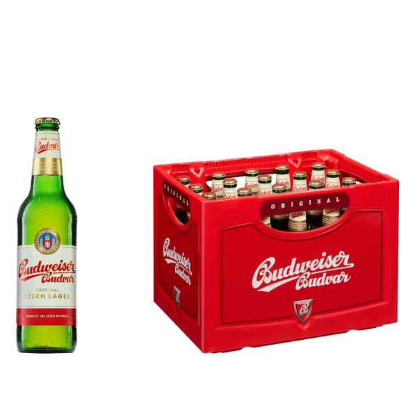 Budweiser Budvar 20 x 0,5l