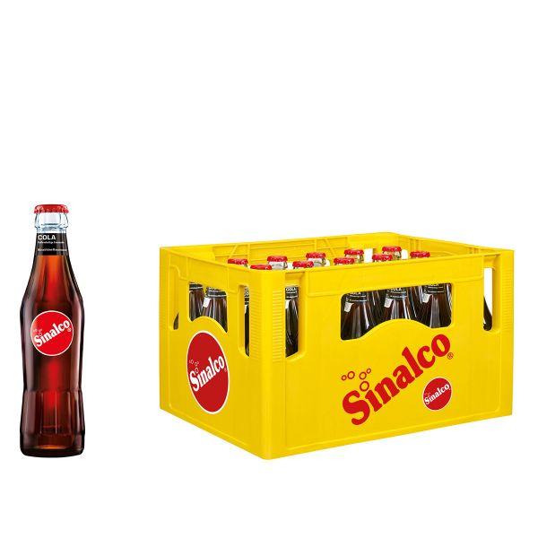 Sinalco Cola 24 x 0,33l Glas Kiste MEHRWEG
