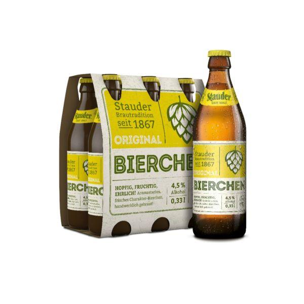 Stauder Bierchen 4 x 6 x 0,33l