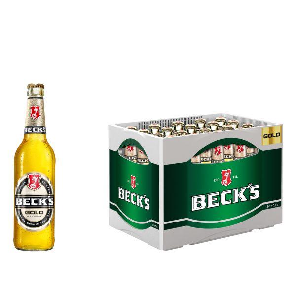 Becks Gold 20 x 0,5l