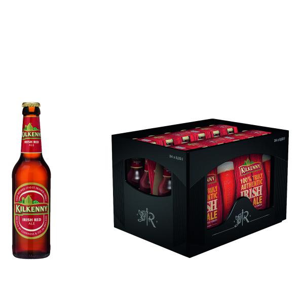 Kilkenny Irish Beer 4 x 6 x 0,33l