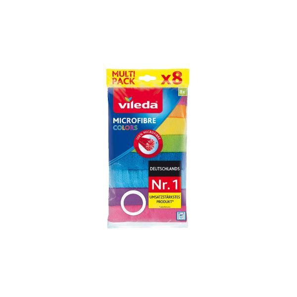 Vileda Allzwecktücher Farbig sortiert 8 Stück