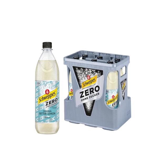 Schweppes Bitter Lemon Zero 6 x 1,0l