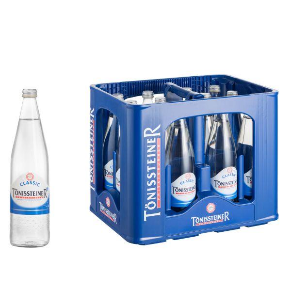 Tönissteiner Classic 12 x 0,75l Glas Kiste MEHRWEG