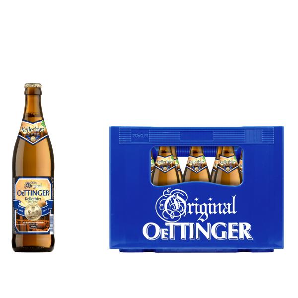 Oettinger Kellerbier 20 x 0,5l