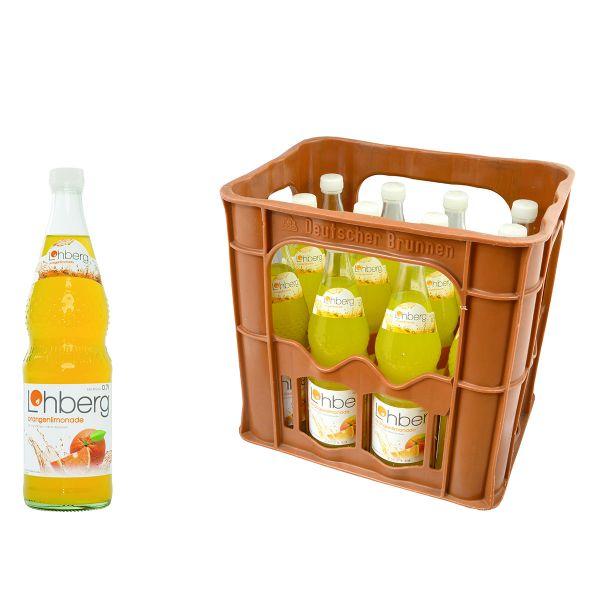 Lohberg Orangenlimonade 12 x 0,7l