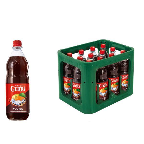 Gerri Cola Mix 12 x 1,0l PET Kiste MEHRWEG