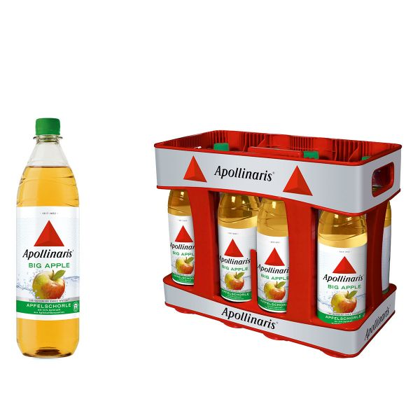 Apollinaris Big Apple 10 x 1,0l PET Kiste MEHRWEG