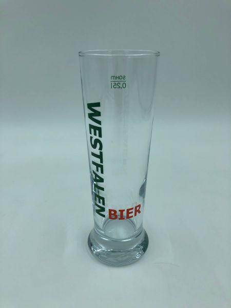 Westfalenbier Szene-Glas 6 x 0,25l