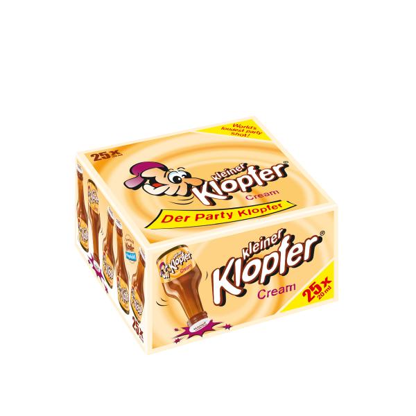 Kleiner Klopfer Cream 17% 25/0,02l