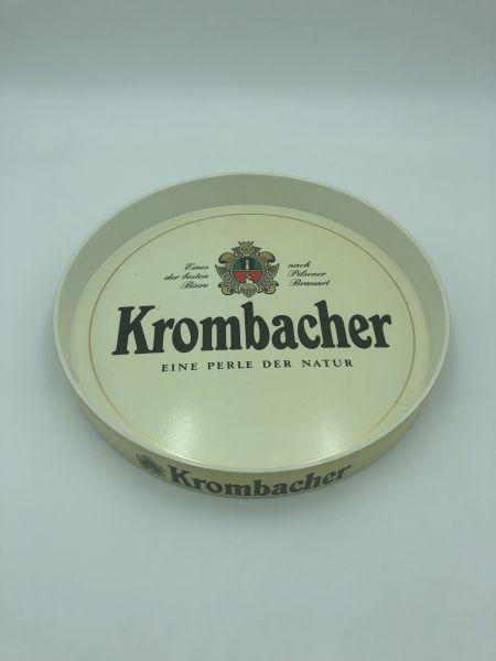 Serviertablett Krombacher Weiß Gebraucht