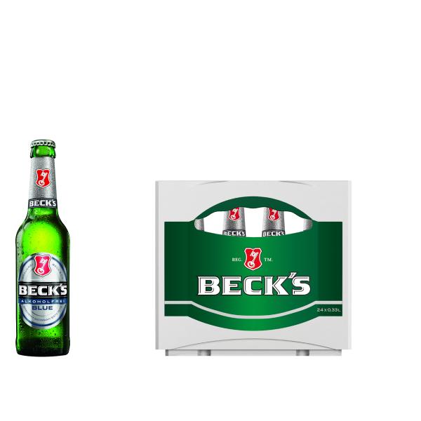 Becks Beck´s Blue Alkoholfrei 24 x 0,33l