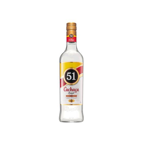 Cachaca 51 40% 1,0l Glas