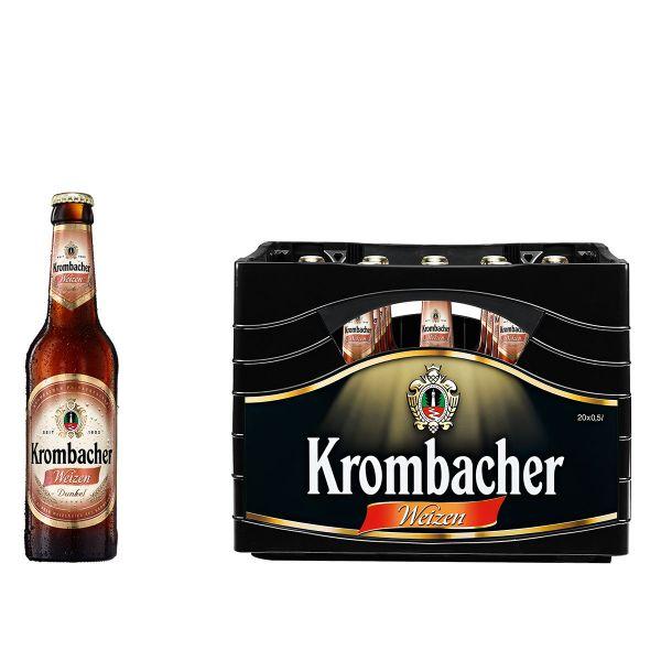 Krombacher Weizen Dunkel 20 x 0,5l