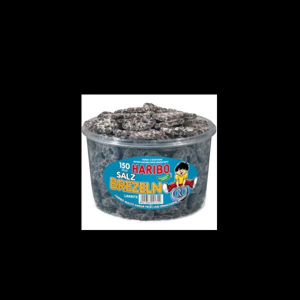 Haribo Lakritz Brezeln 1 kg