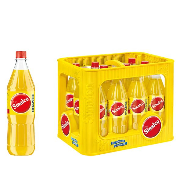 Sinalco Orange 12 x 1,0l PET Kiste MEHRWEG