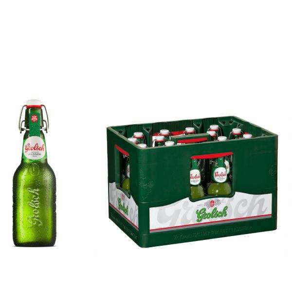 Grolsch Premium Pilsener 16 x 0,45l