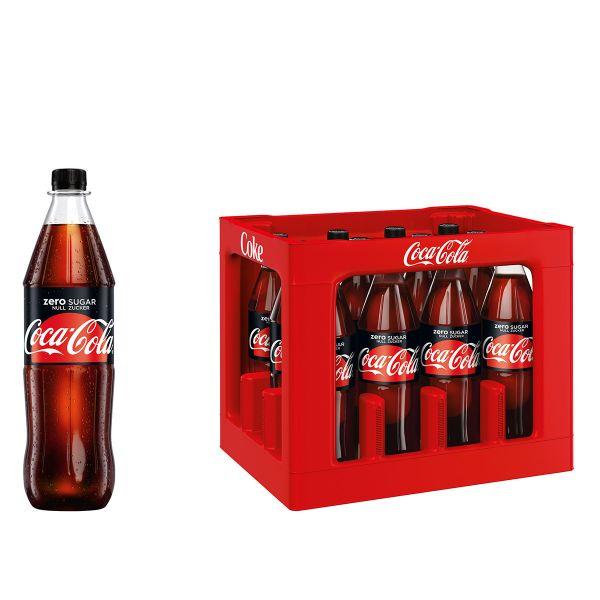 Coca Cola Zero Sugar 12 x 1,0l