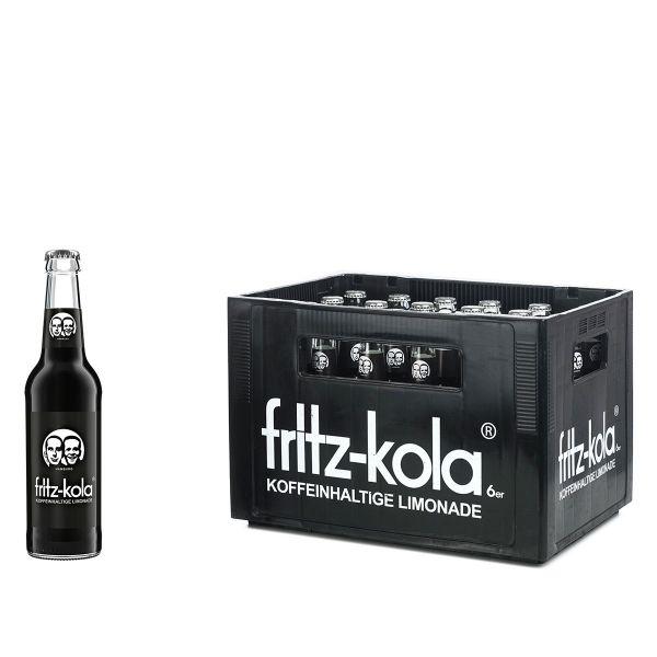 Fritz Kola 24 x 0,33l Glas Kiste MEHRWEG