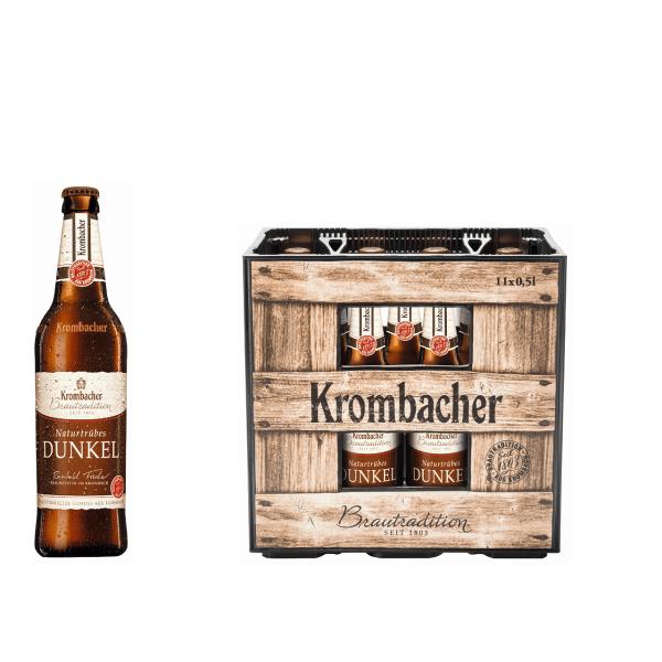 Krombacher Brautradition Dunkel 11 x 0,5l