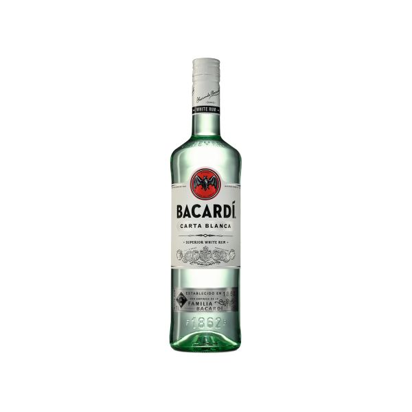 Bacardi Carta Blanca 37,5% 1,0l