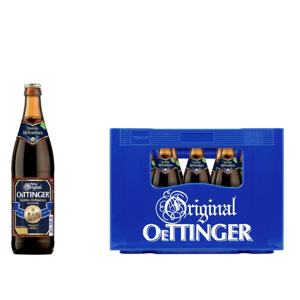 Oettinger Weißbier Dunkel 20 x 0,5l