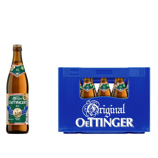 Oettinger Alt 20 x 0,5l
