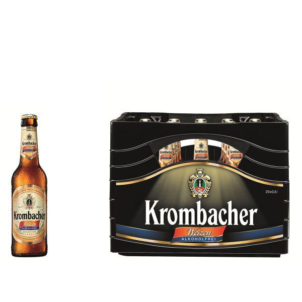 Krombacher Weizen Alkoholfrei 20 x 0,5l