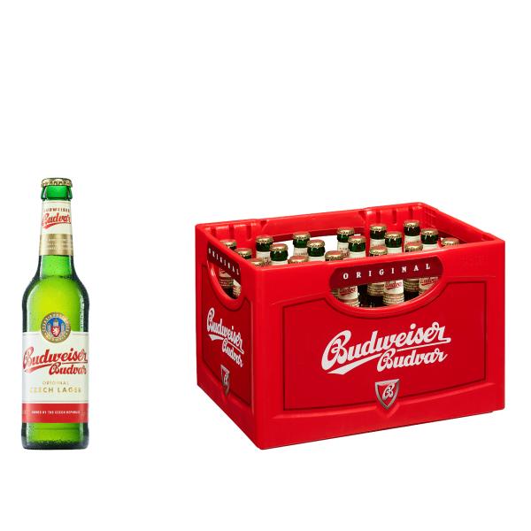 Budweiser Budvar 24 x 0,33l