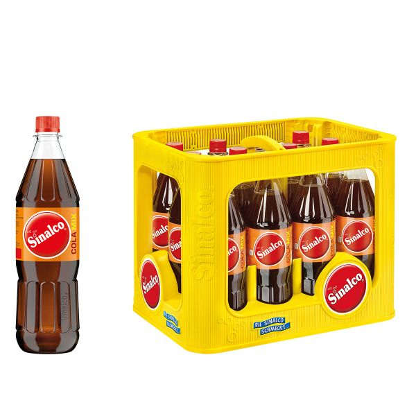 Sinalco Cola Mix 12 x 1,0l PET Kiste MEHRWEG