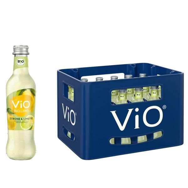 ViO Bio Limo Zitrone-Limette 24 x 0,3l
