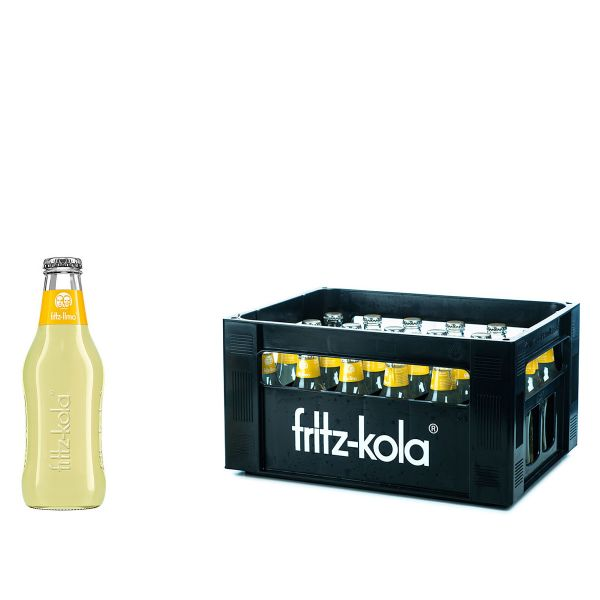 Fritz Limo Zitrone 24 x 0,2l