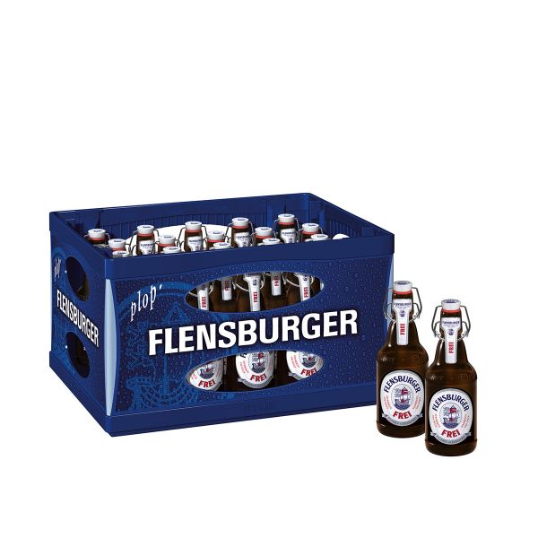 Flensburger Alkoholfrei 20 x 0,33l Glas MEHRWEG