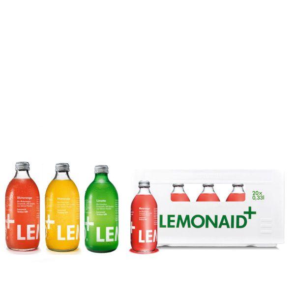 LemonAid Blutorange / Maracuja / Limette 20 x 0,33l