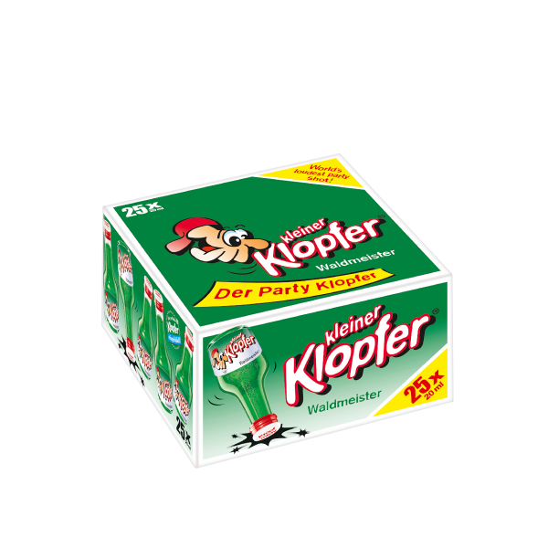 Kleiner Klopfer Waldmeister 16% 25/0,02l
