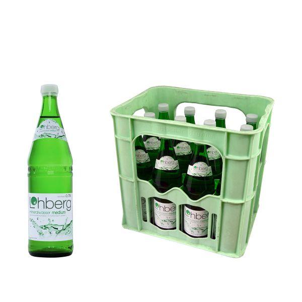Lohberg Medium 12 x 0,7l Glas Kiste MEHRWEG