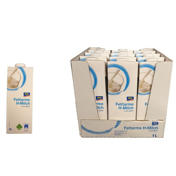 ARO H-Milch 1,5% 12 x 1,0l