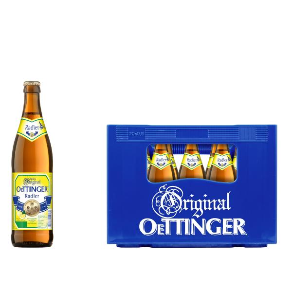 Oettinger Radler 20 x 0,5l