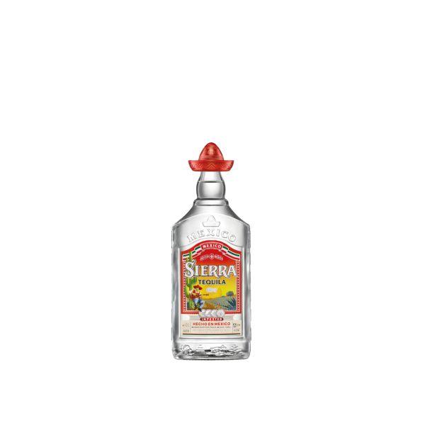 Sierra Silver Tequila 38% 0,7l Glas