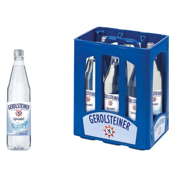 Gerolsteiner Classic 6 x 1,0l Glas Kiste MEHRWEG