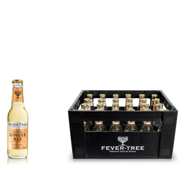 Fever-Tree Smoky Ginger Ale 24 x 0,2l