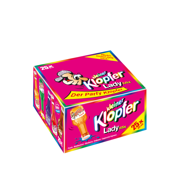Kleiner Klopfer Lady Mix 25/0,02l