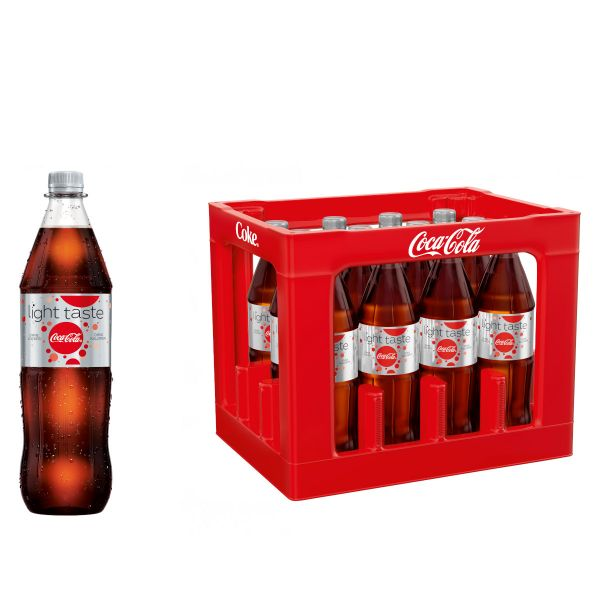 Coca Cola Light 12 x 1,0l PET Kiste MEHRWEG
