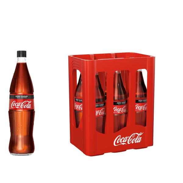 Coca Cola Zero Sugar 6 x 1,0l