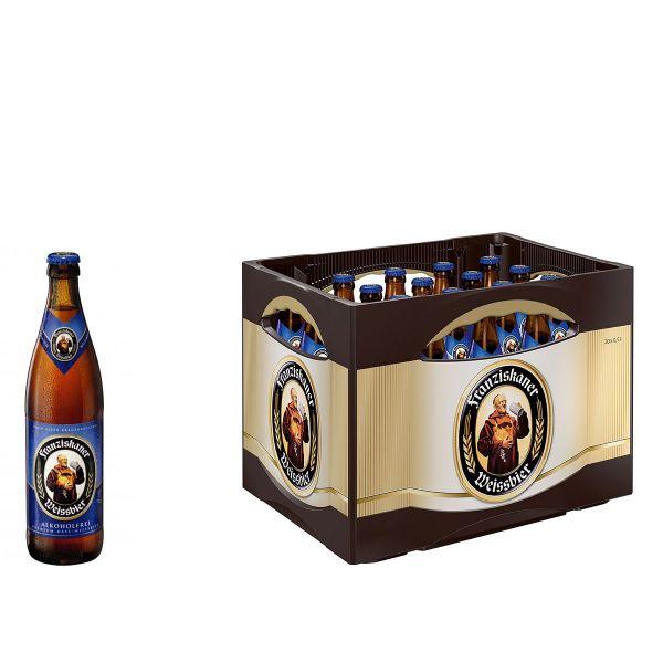 Franziskaner Weizen Alkoholfrei 20 x 0,5l