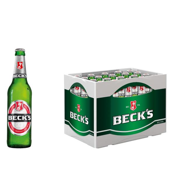 Becks Pils 20 x 0,5l