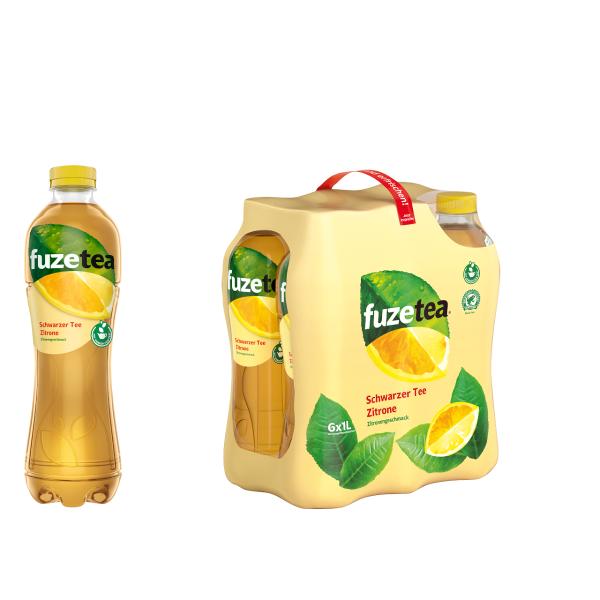 Fuze Tea Zitrone 6 x 1,0l