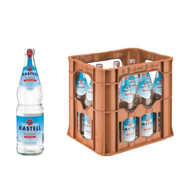 Kastell Klassik 12 x 0,7l Glas Kiste MEHRWEG