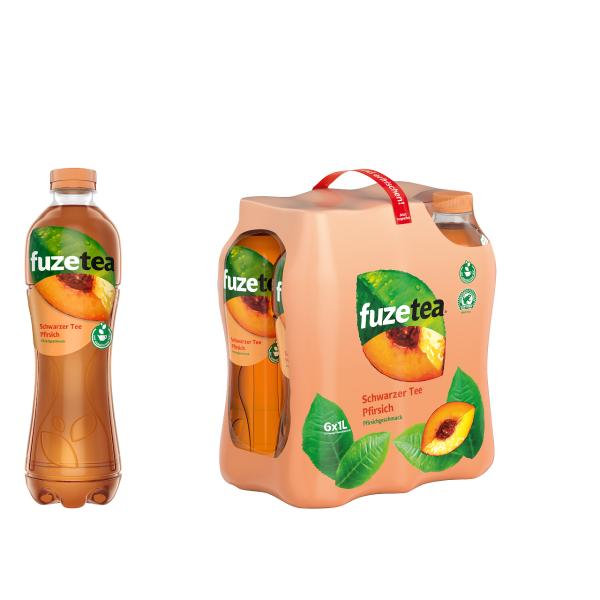 Fuze Tea Pfirsich 6 x 1,0l